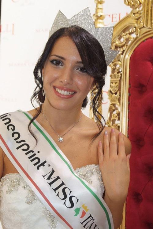 MISS ITALIA 2014 MADRINA DELLA MAISON di Maria Celli