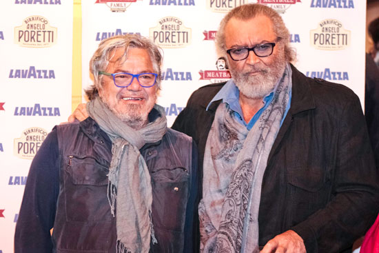 Ugo Conti con Diego Abatantuono, foto stampa