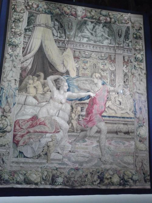 Lo splendore degli arazzi di Cosimo al Salone dei Corazzieri