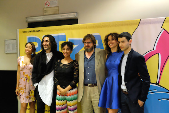 Il cast del film, foto di Rodolfo Mazzoni