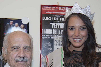 Amanda Munini è Miss Cinema Roma 2015