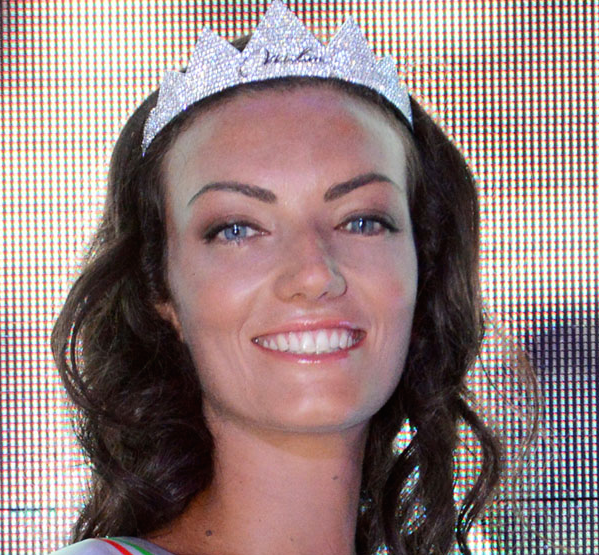 Claudia Guidi è Miss Roma 2015