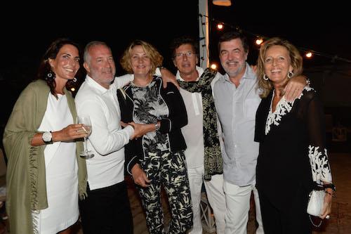 Lorenza e Francesco Trapani, Marie e Umberto Ercole, Toni e Cecilia Colussi Rossi, foto stampa