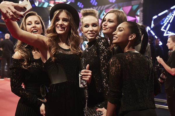 Selfie al 2015 MTV EMA, foto stampa
