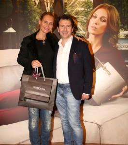 Annamaria Malipiero con Sergio Sciamanna, foto stampa