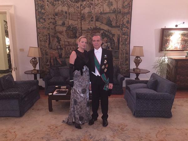 L'Ambasciatore con consorte, foto stampa