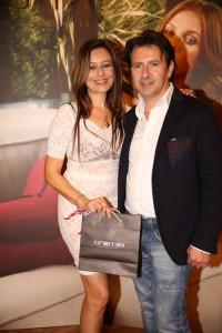 Deborah Bettega con Sergio Sciamanna, foto stampa