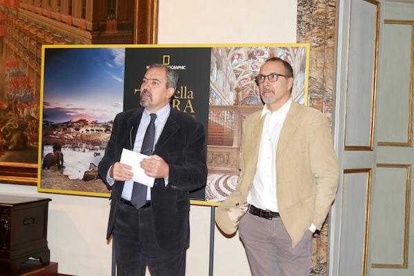 Presentazione mostra, foto di Rodolfo Mazzoni