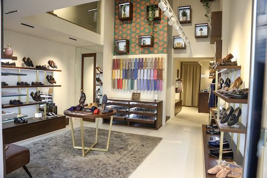 Interno della boutique, foto stampa