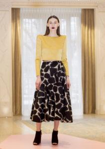 La nuova collezione autunno -inverno della stilista Winonah (moglie dell'ex calciatore del Milan De Jong), foto LaPresse/Spada