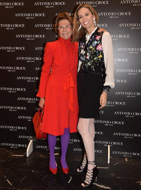 Betta Gancia Fontana con Laura Morino Teso, foto stampa