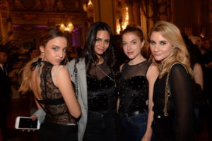 Carla Ginola, Hanna Romao, Victoria Monfort e Camille Benaroch, foto stampa
