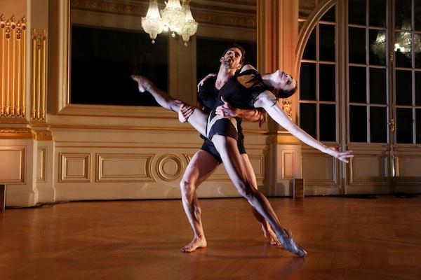 Marie Agnes Gillot e Vincent Chaillet, foto stampa