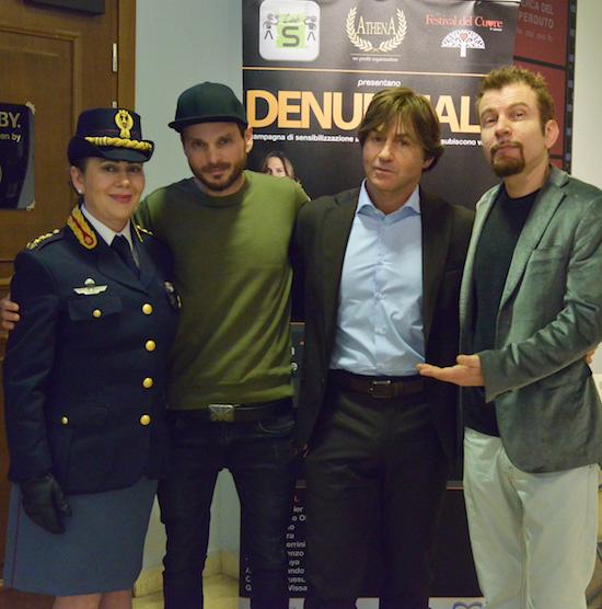Lorenzo, Andrea Febo, Castracane e Guerrini, foto stampa