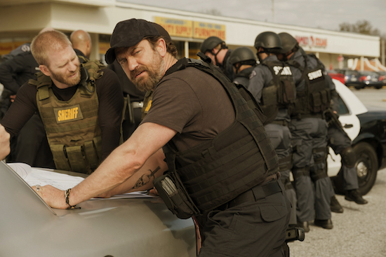 Gerard Butler stars in DEN OF THIEVES, foto stampa