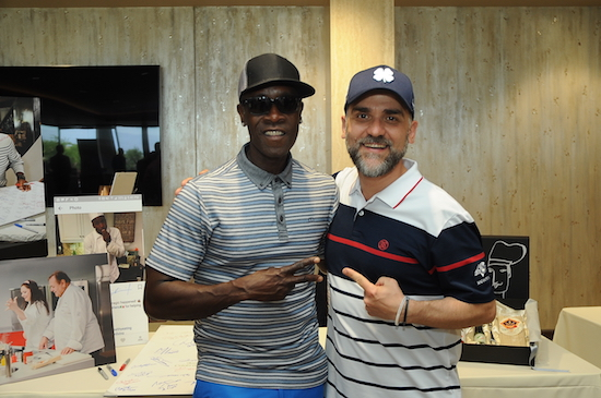 Lo Chef con Don Cheadle, foto stampa