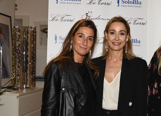 Una ospite con Michela Bruni Reichlin, foto stampa