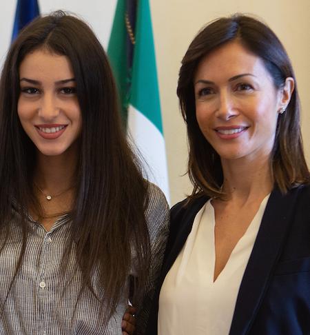 "Miss Italia, Mara Carfagna incontra Chiara Bordi: ""Italiani ed Istituzioni sono con lei"""