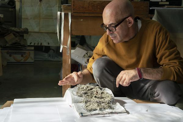 Antonio Marras, progetto Zanichelli, foto di Daniela Zedda