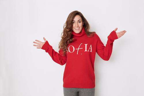 Sofia Goggia veste Falconeri, foto stampa